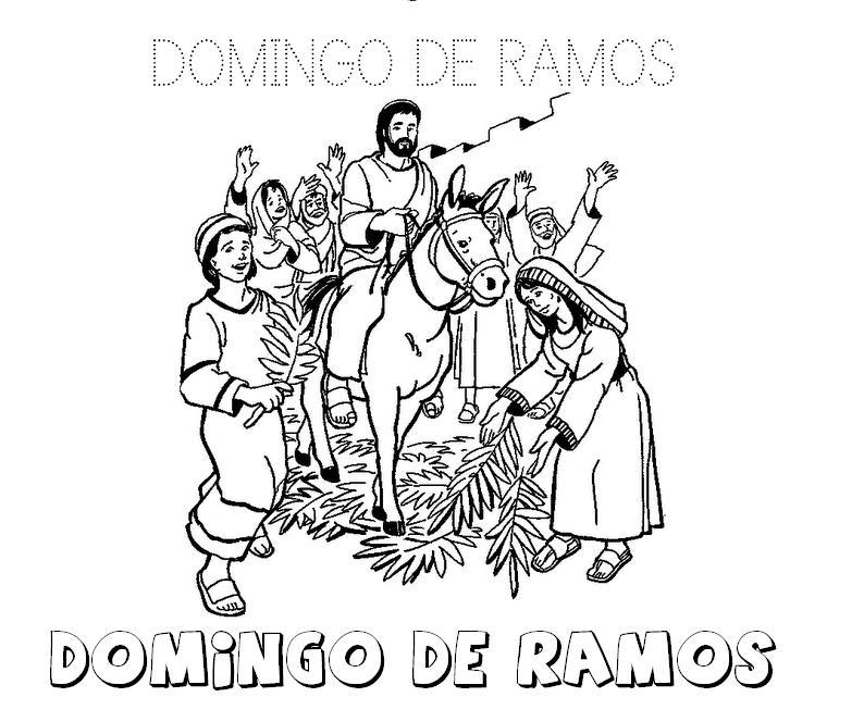 MATERIALES DE RELIGIÓN CATÓLICA: DOMINGO DE RAMOS. Infantil