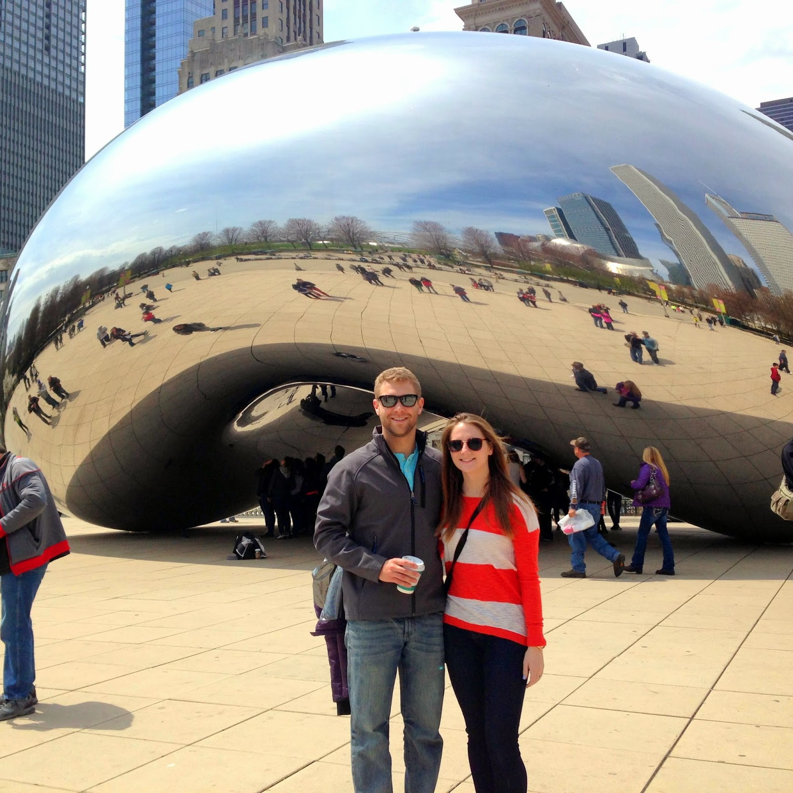 pictures at the bean in chicago