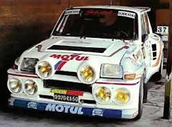 Primera montura de Pascal Tomase, posteriormente adquirida por Carcreff.