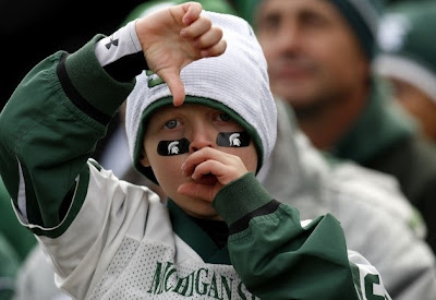 sad michigan state fan