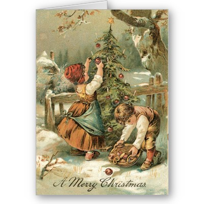 ... card old fashioned christmas cards vintage christmas cards vintage