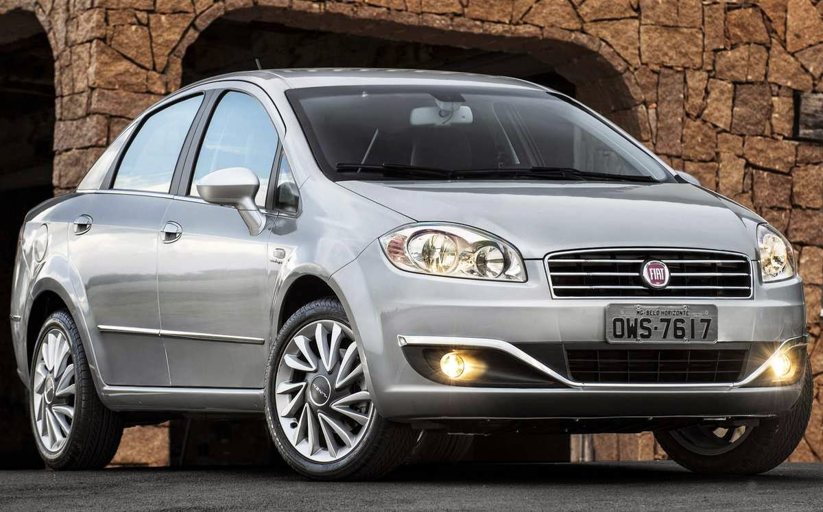 Novo Fiat Linea 2015 fotos sedan