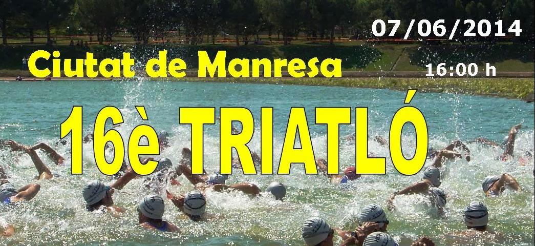 TRIATLÓ  CIUTAT  DE  MANRESA