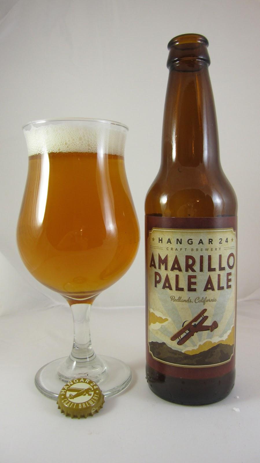 Chad'z Beer Reviews: Hangar 24 Amarillo Pale Ale