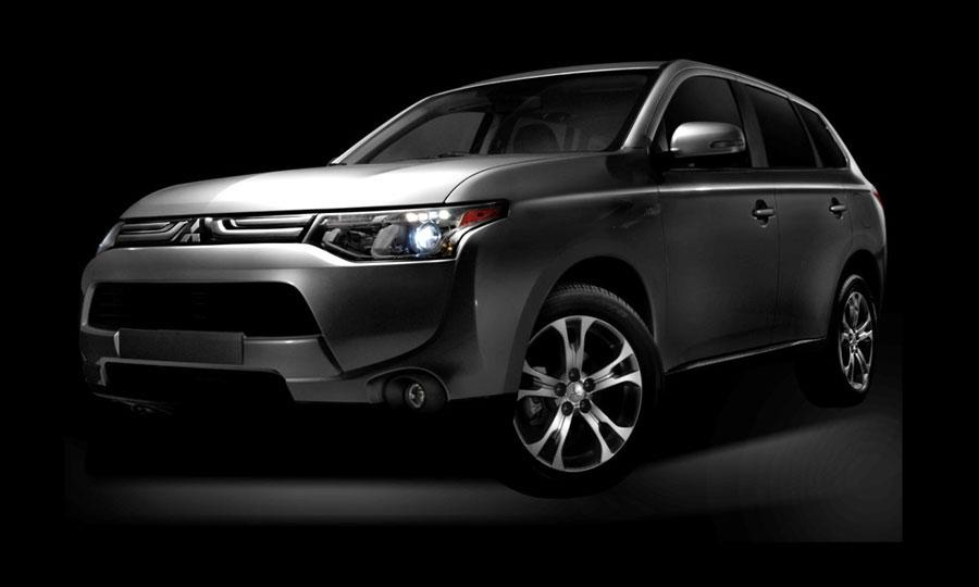 mitsubishi unveils all new 2014 outlander and 2013 outlander sport limited edition at the 2012 los angeles auto show