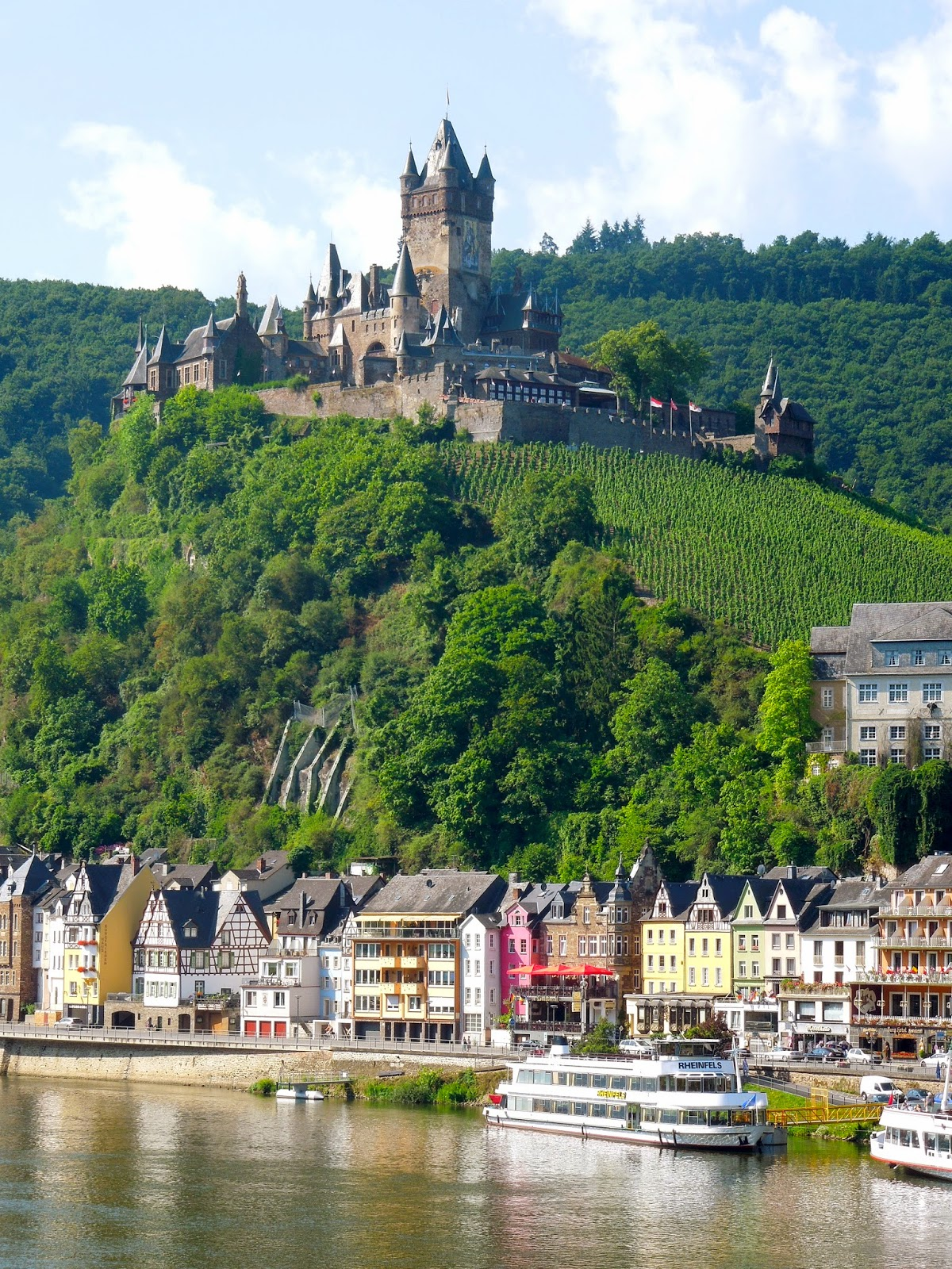 To Europe With Kids Cochem On The Mosel River