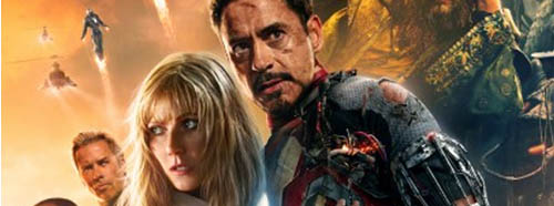 Iron Man 3 TV Spot and Poster