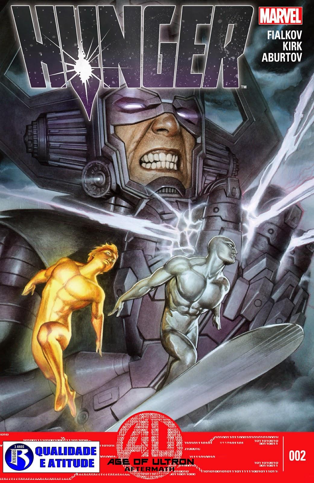 Nova Marvel! Faminto #2 (Opcional)