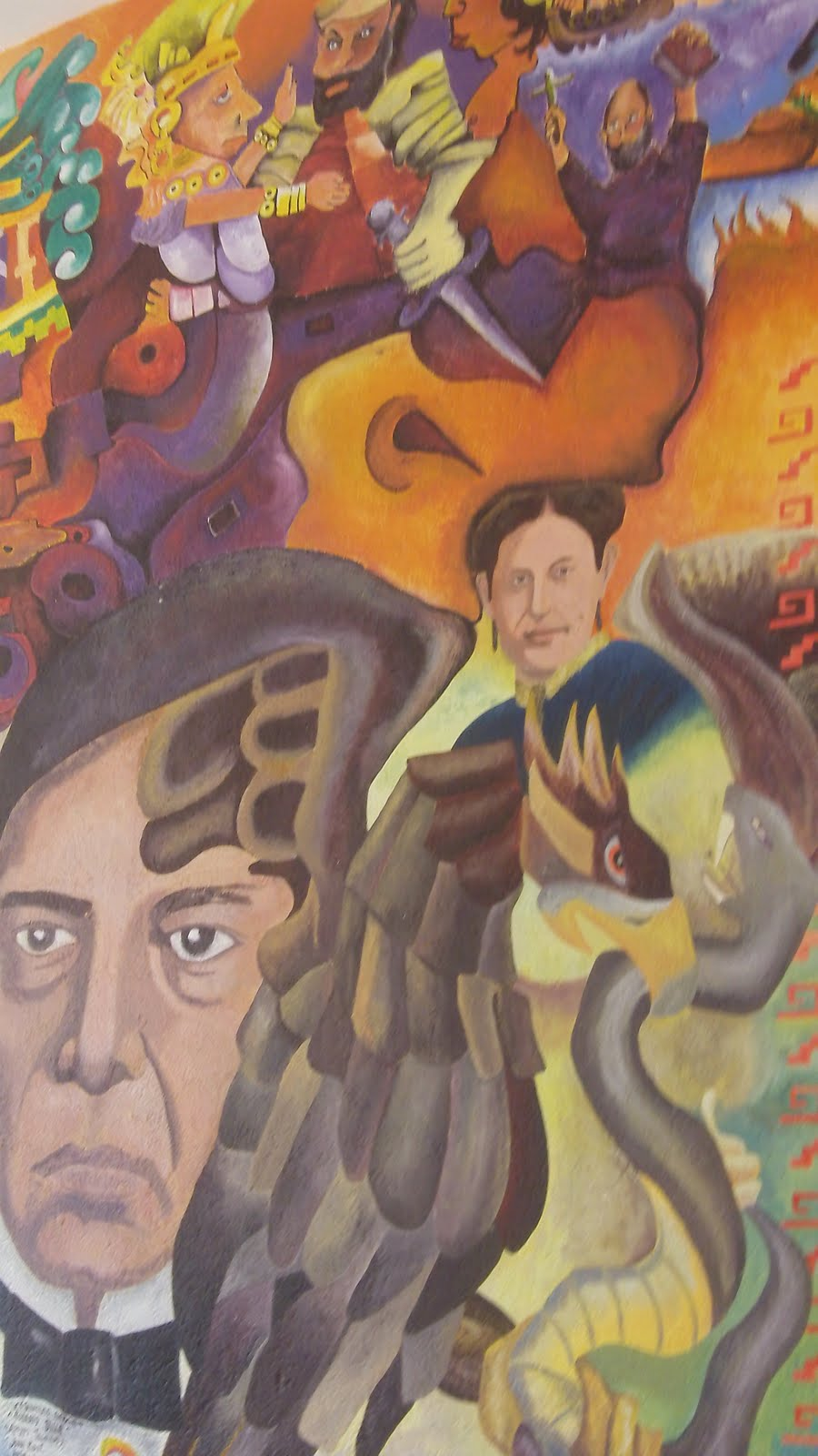 Benito juarez and the zapotecs the birthplace of benito for Benito juarez mural