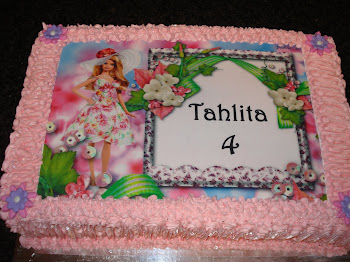 Tahlita&#39;s Birthday Cake