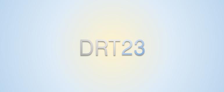 DRT23'e Hoş geldiniz!