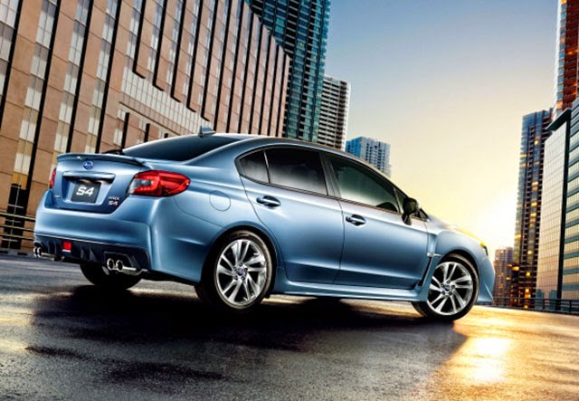 2015 Subaru WRX S4 launches in Japan