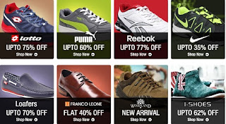 Get Flat 25% Additional Off on Men's / Women's Footwear  (Now 25% Additional Off Applicable on Cart Value of Rs.499 & above)