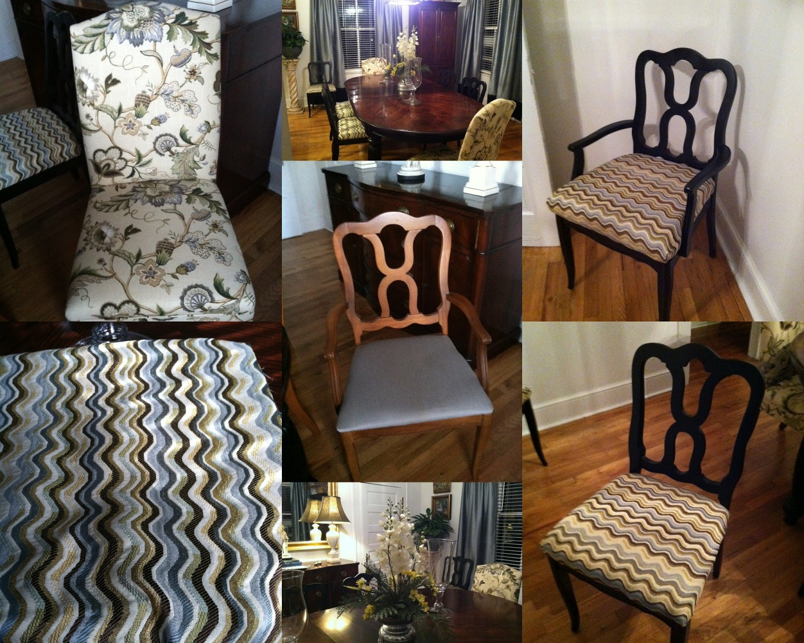 Dining Room Chairs Redo