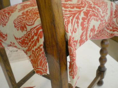 Trabajo artesanal c mo tapizar una silla paso a paso - Como tapizar una banqueta ...