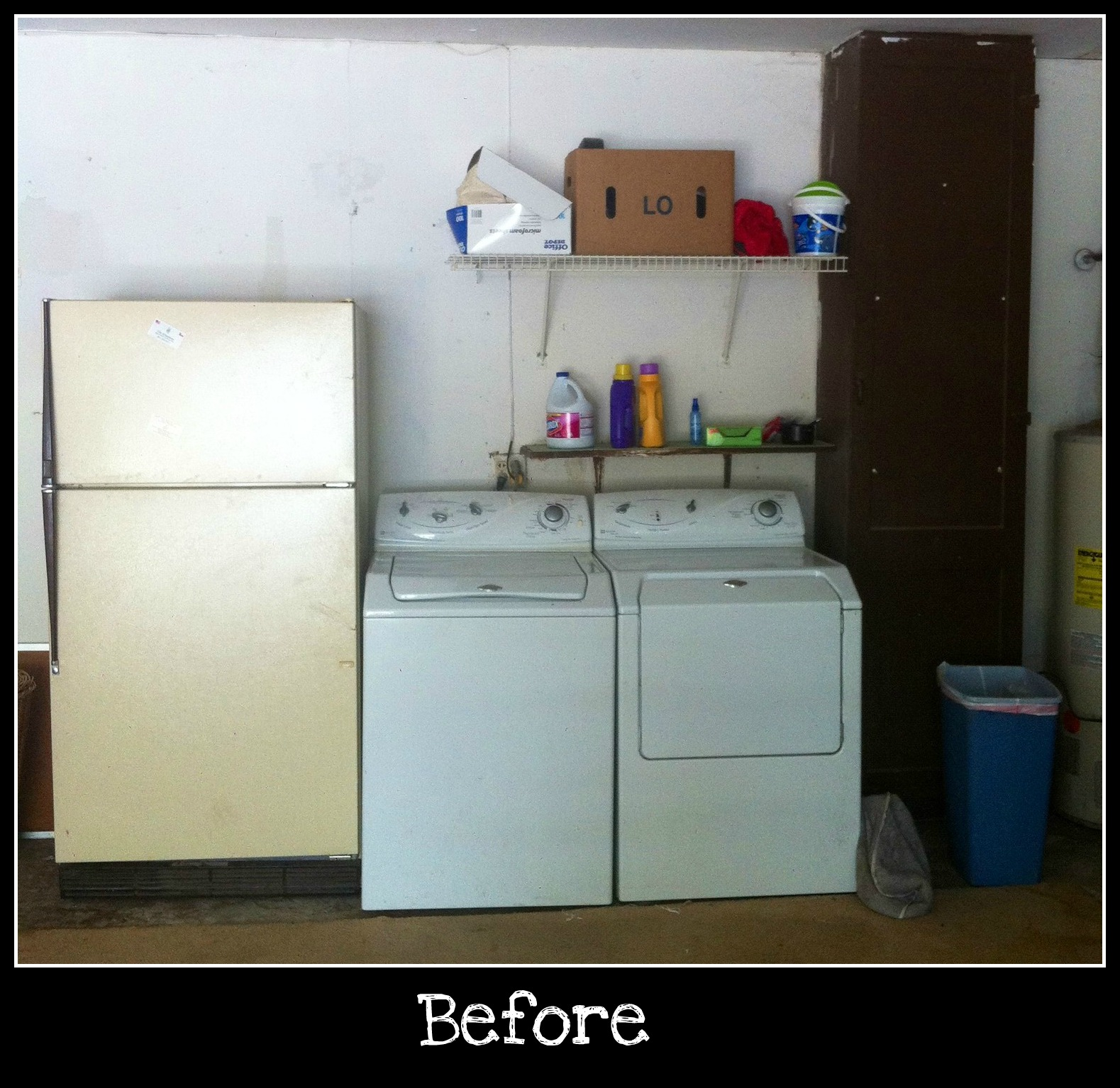 laundry room makeovers ideas attractive personalised home design. Black Bedroom Furniture Sets. Home Design Ideas