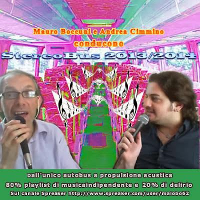 StereoBus: format italiano di musica indipendente condotto da Mauro Boccuni e Andrea Cimmino