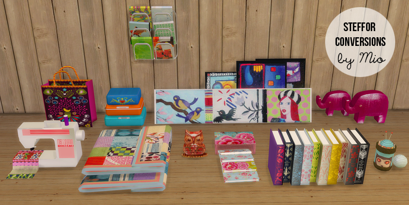 My Sims 4 Blog Ts2 N A N U Living And Steffor Clutter