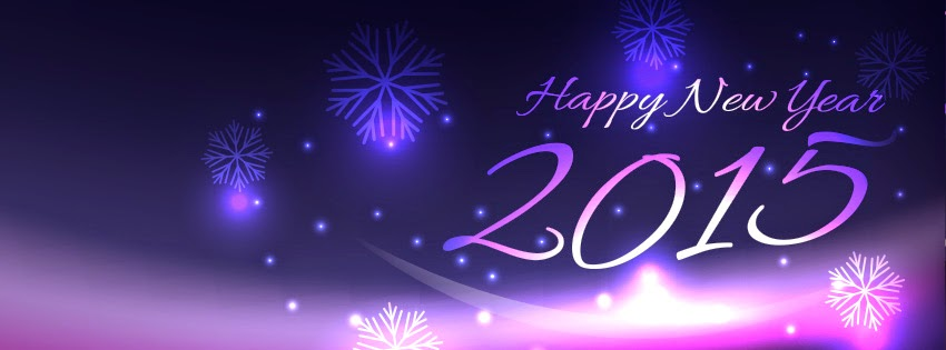 Happy new year 2015 cover Facebook (FB)