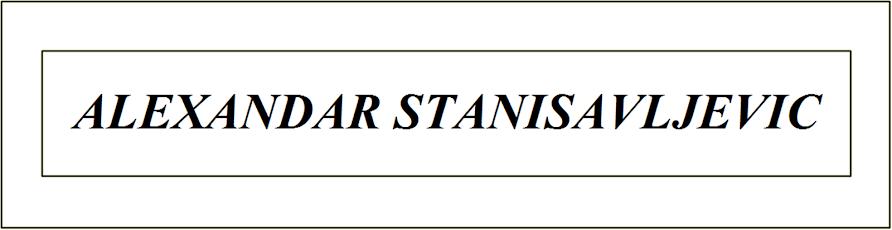 ALEXANDAR STANISAVLJEVIC