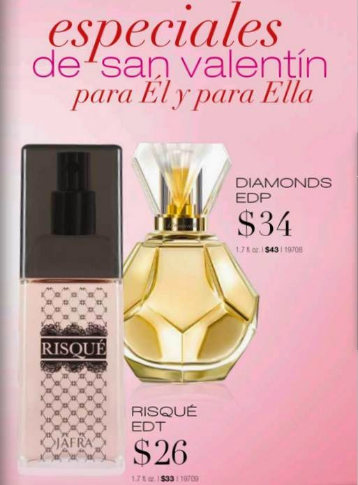 Fragancia Diamonds y Risque Jafra 2-2015