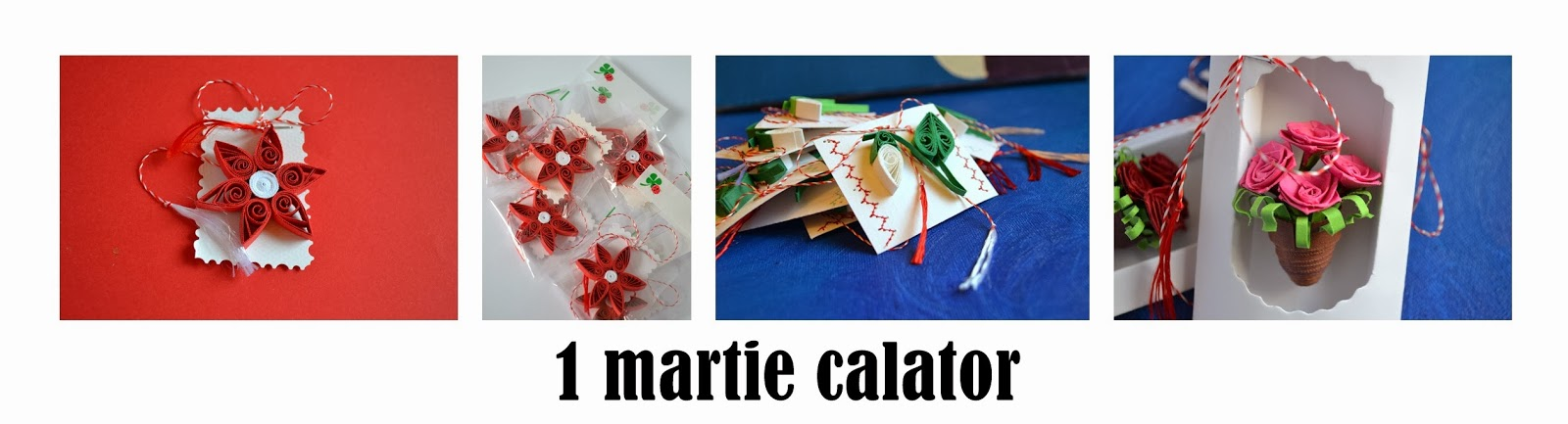 martisoare quilling bucuresti circul magic