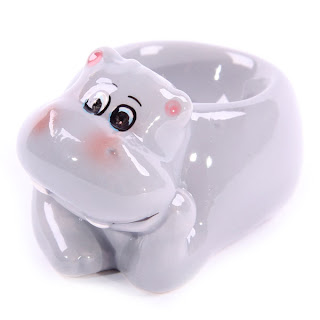 Wild Bunch Ceramic Hippo Egg Cup