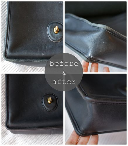 restoring a leather purse