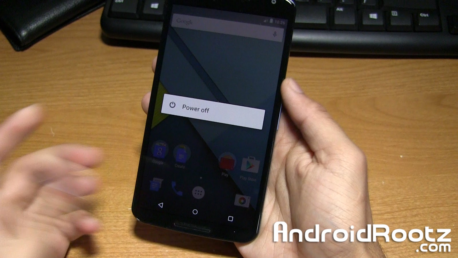 how to start nexus 5 in safe mode