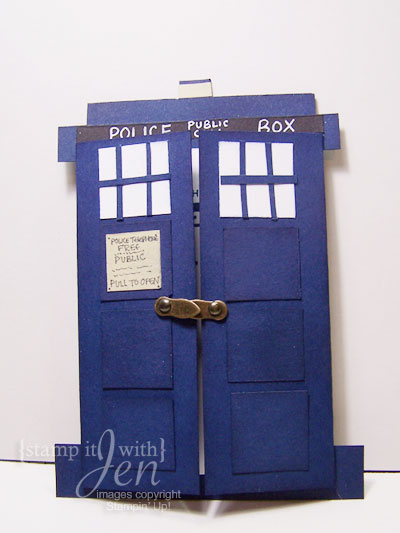 Stamp It With Jen Doctor Who Birthday Card