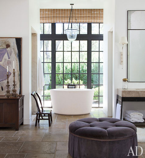 Splendid sass bobby mcalpine design in wine country for Bath remodel napa ca