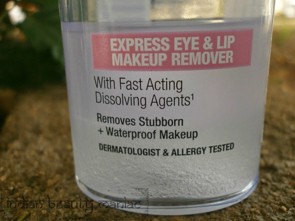 Maybelline New York New Clean Express Total Clean Eye & Lip Makeup Remover