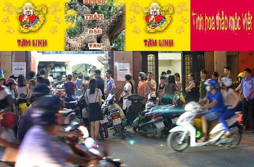 Khách hàng mua Hương Tâm Linh