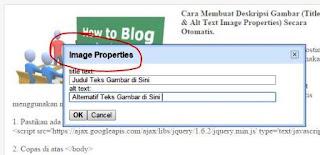 Jangan Gunakan Kode Menambahkan Title & Alt Text, Cara membuat Alt Tag Gambar secara Otomatis - Ehpedia, 7 Cara Ampuh Membuat Blog Seo Friendly - Madamvia