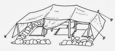 Tipos de Casas - Modelos de Casas - Tenda de Deserto