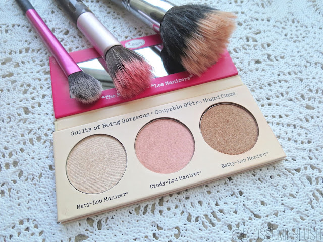 a picture of theBalm The Manizer Sisters palette & brushes