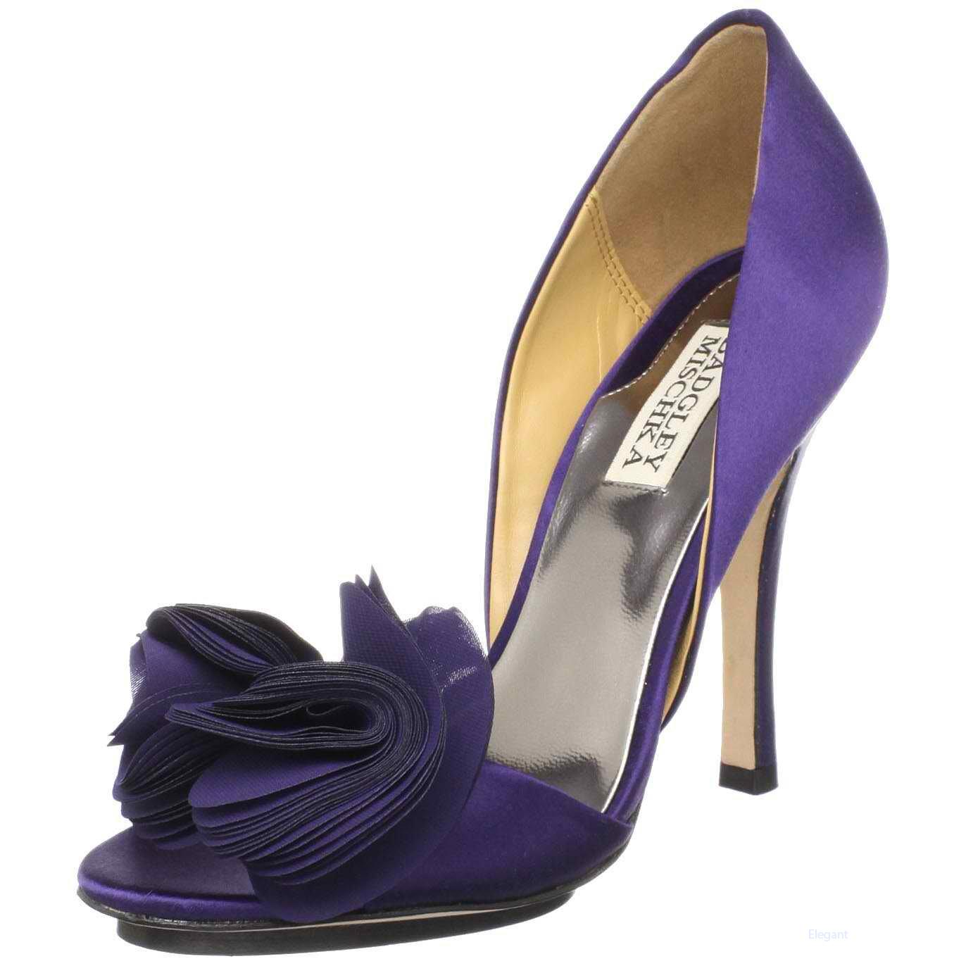 All Fun 143 Purple Bridal Shoes