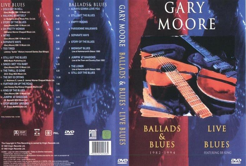 Gary Moore - Ballads & Blues 1982 - 1994 / Live Blues