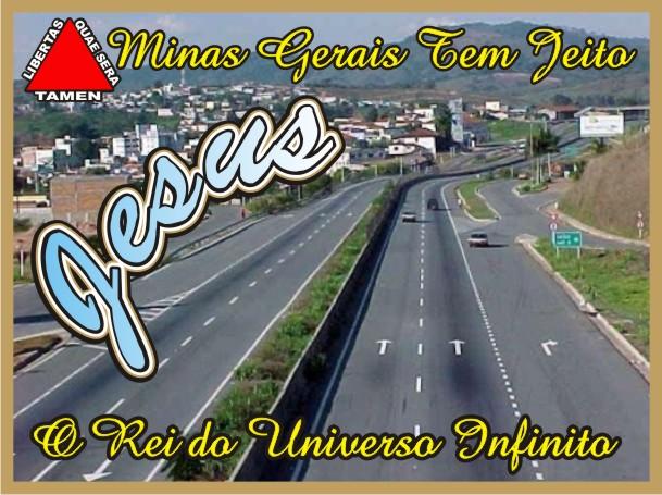 Minas Gerais Tem Jeito Jesus Cristo