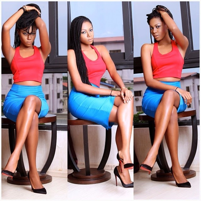 Yvonne Nelson Releases Hot, New Sizzling Photos! She's Even Asking Y'all To Choose The Sexiest One Out Of The Many Photos She Just Released HERE!