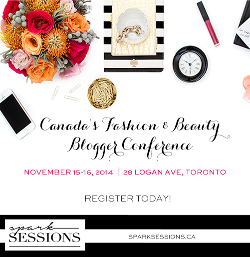 Spark Sessions Fashion and Beauty Blogger Conference 2014 in Toronto, Ontario, Canada, Brands, PR, Companies, Learn, Networking, The Purple Scarf, Melanie.Ps, District 28