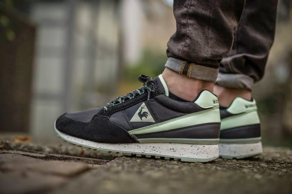 Le Coq Sportif, Eclat, Glow in the Dark, sneakers, zapatillas, calzado, sportstyle, sportwear, Suits and Shirts,