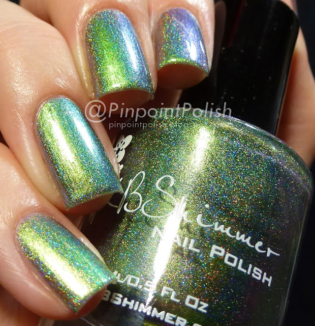 Pretty In Punk, KBShimmer, swatch