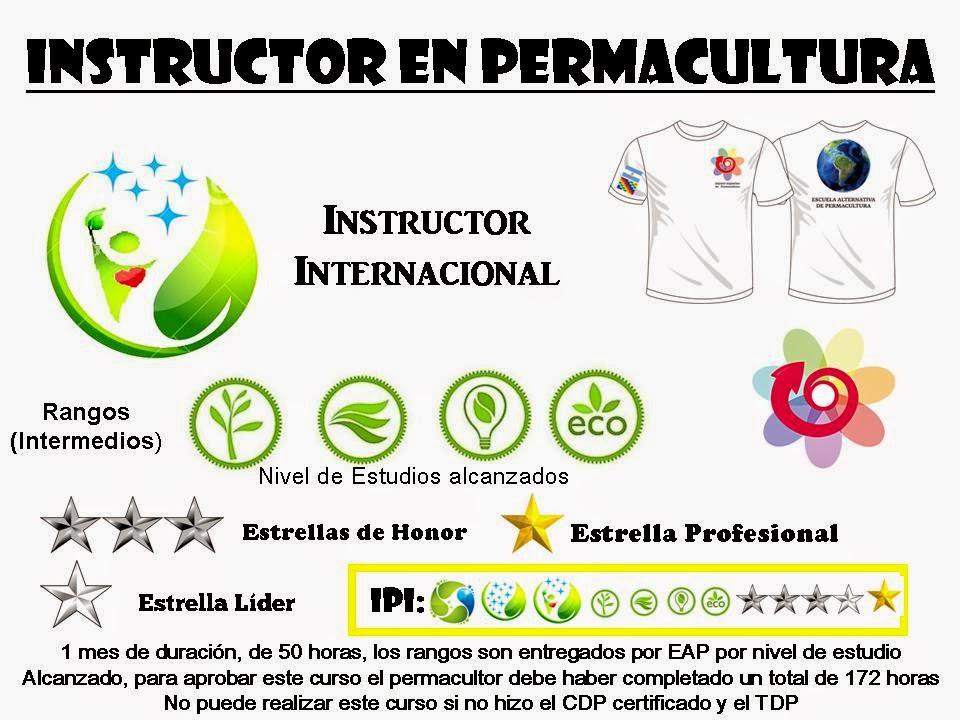 Instructor en Permacultua