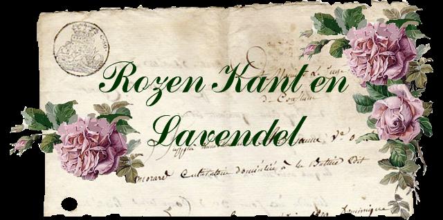 Rozen - Kant en Lavendel