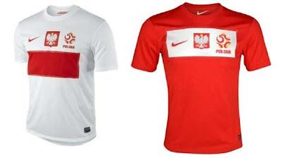 Jersey Polandia EURO 2012