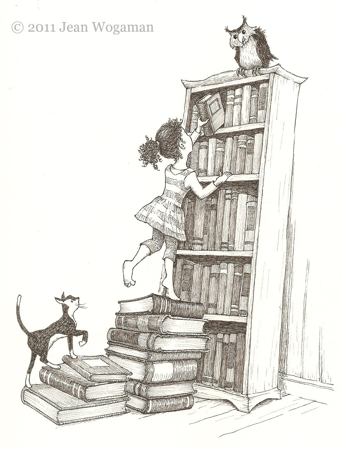 Bookshelf Drawi...