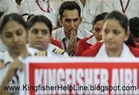 Kingfisher Staff  Grievances