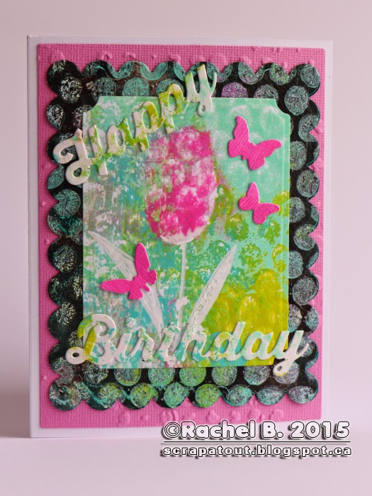 Handmade Birthday Card Impression Obsession