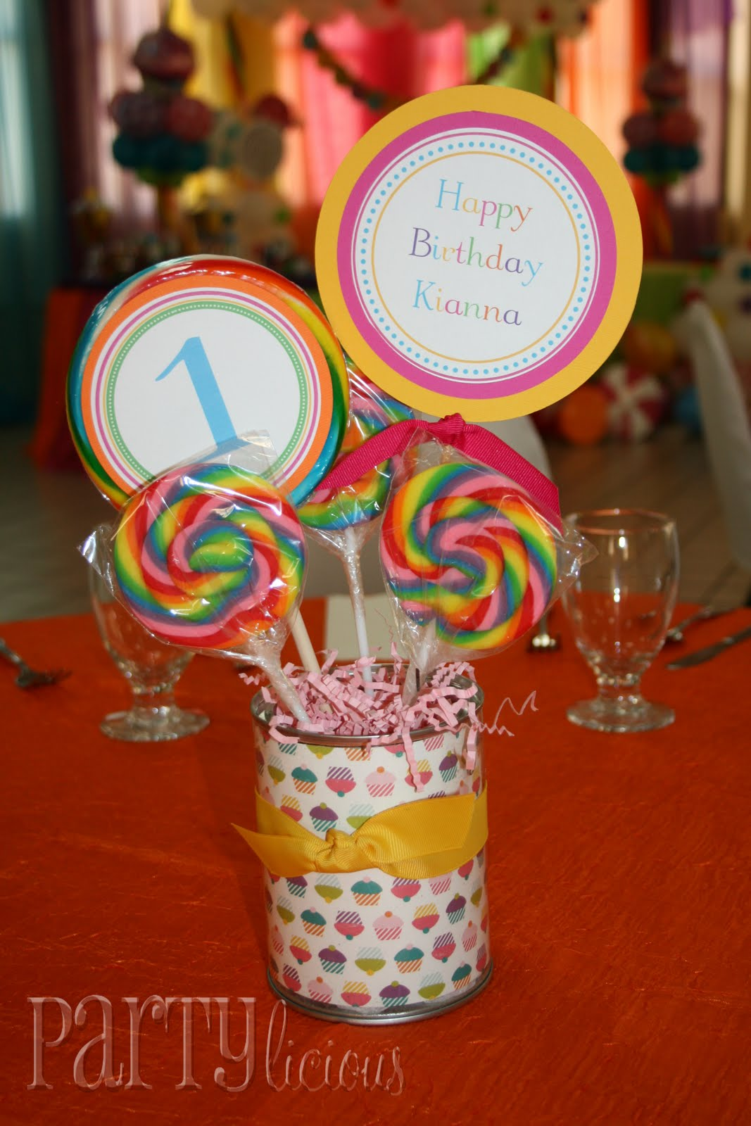 Partylicious events pr sweet st birthday candy cupcakes